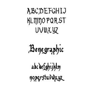 benegraphicfont