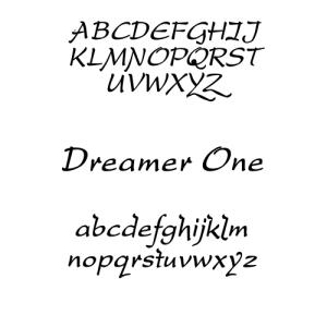 DreamerOne Font