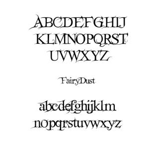 FairyDust Font